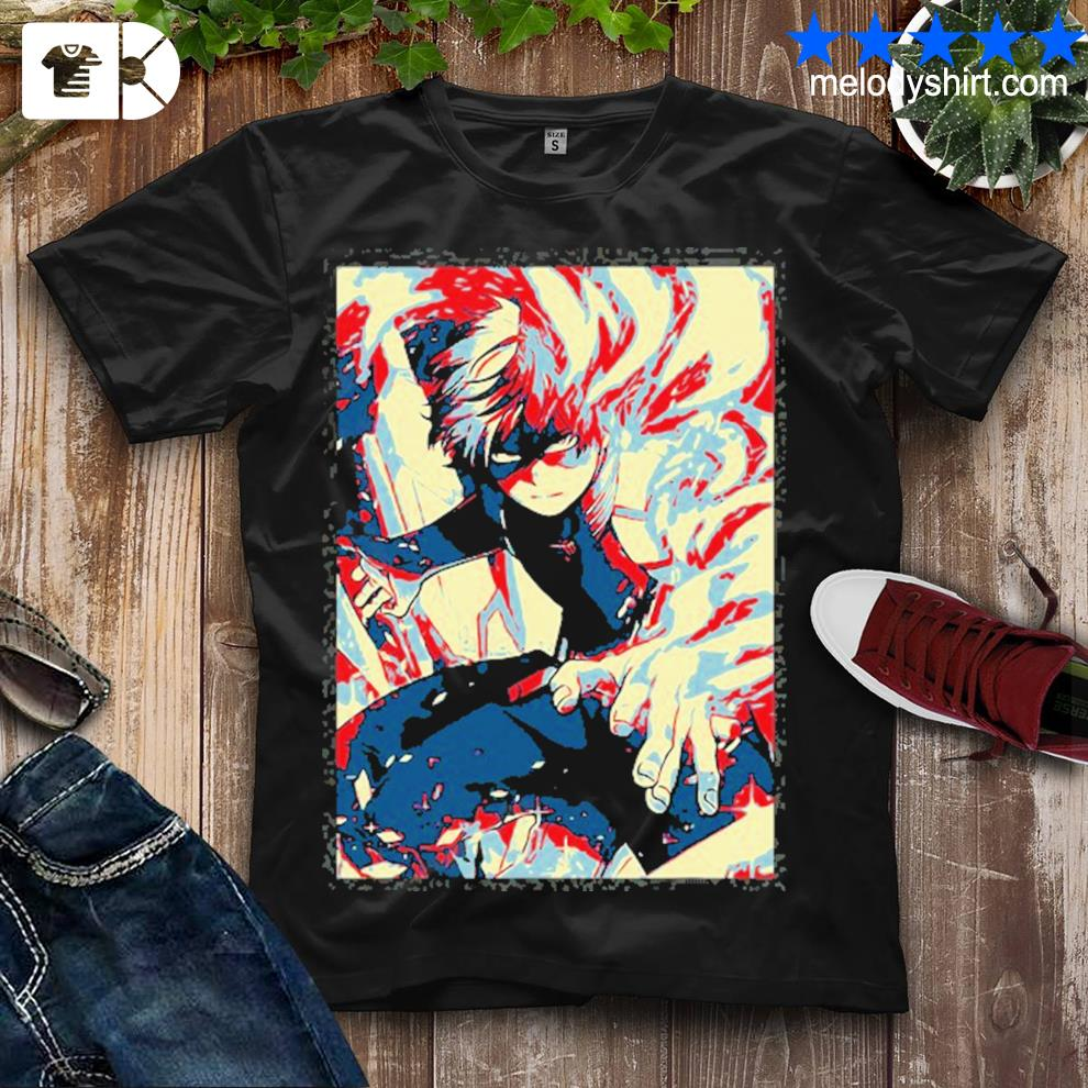 Academia my hero todorokI love shirt