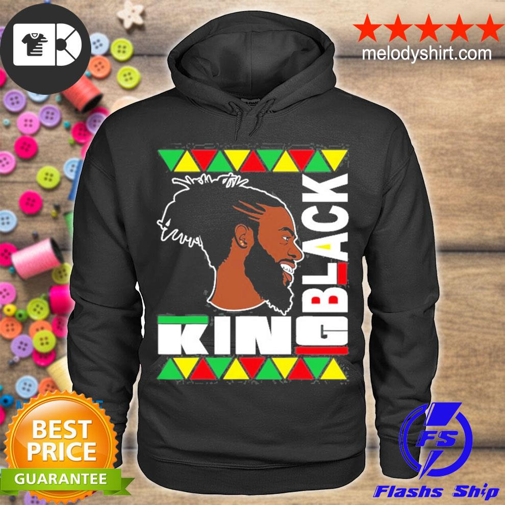 Black king for the culture african print funny s hoodie