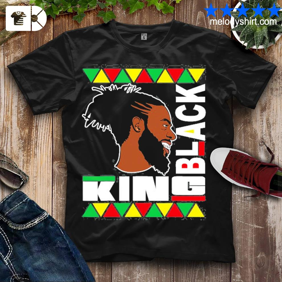 Black king for the culture african print funny shirt