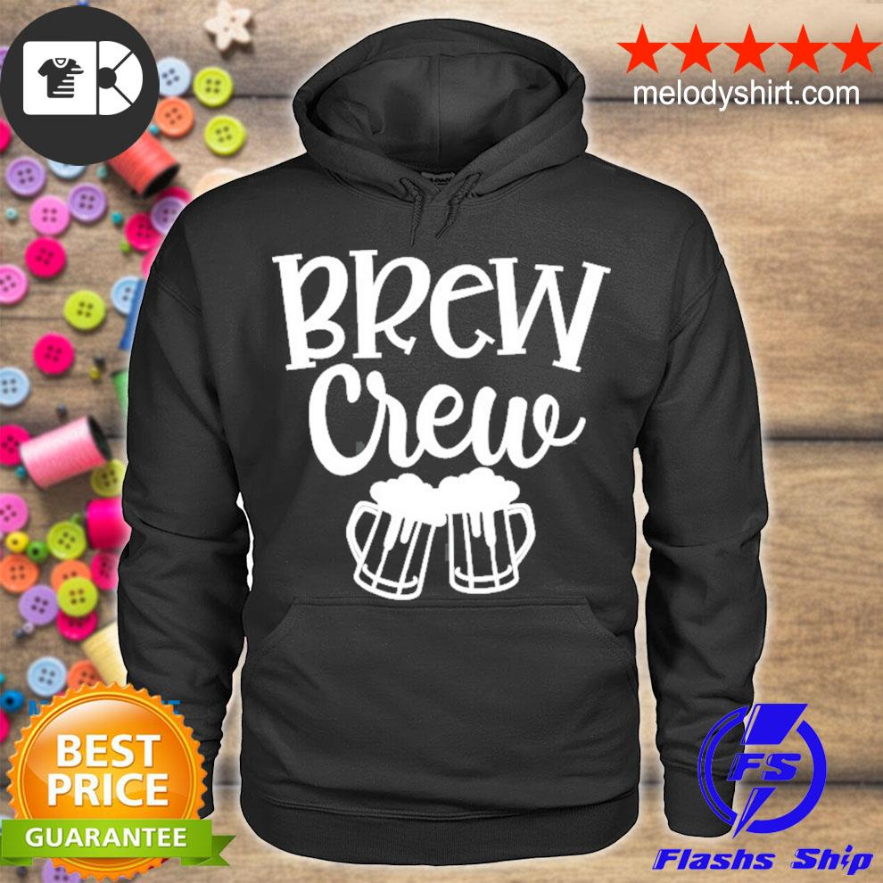 Brew the crew brew before bachelorette party matching outfit s hoodie