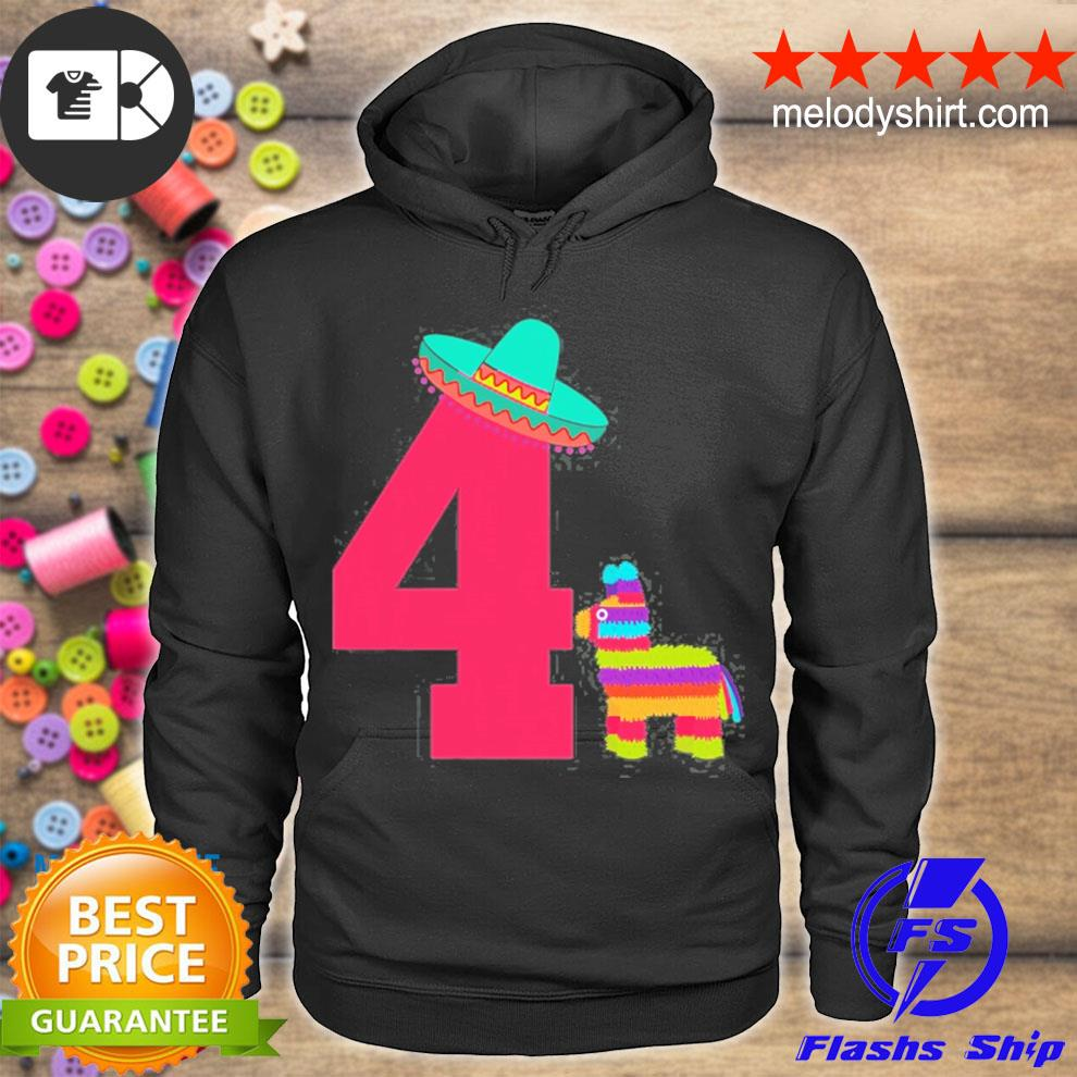 Cinco de mayo toddler mexican fiesta 4th birthday outfit s hoodie