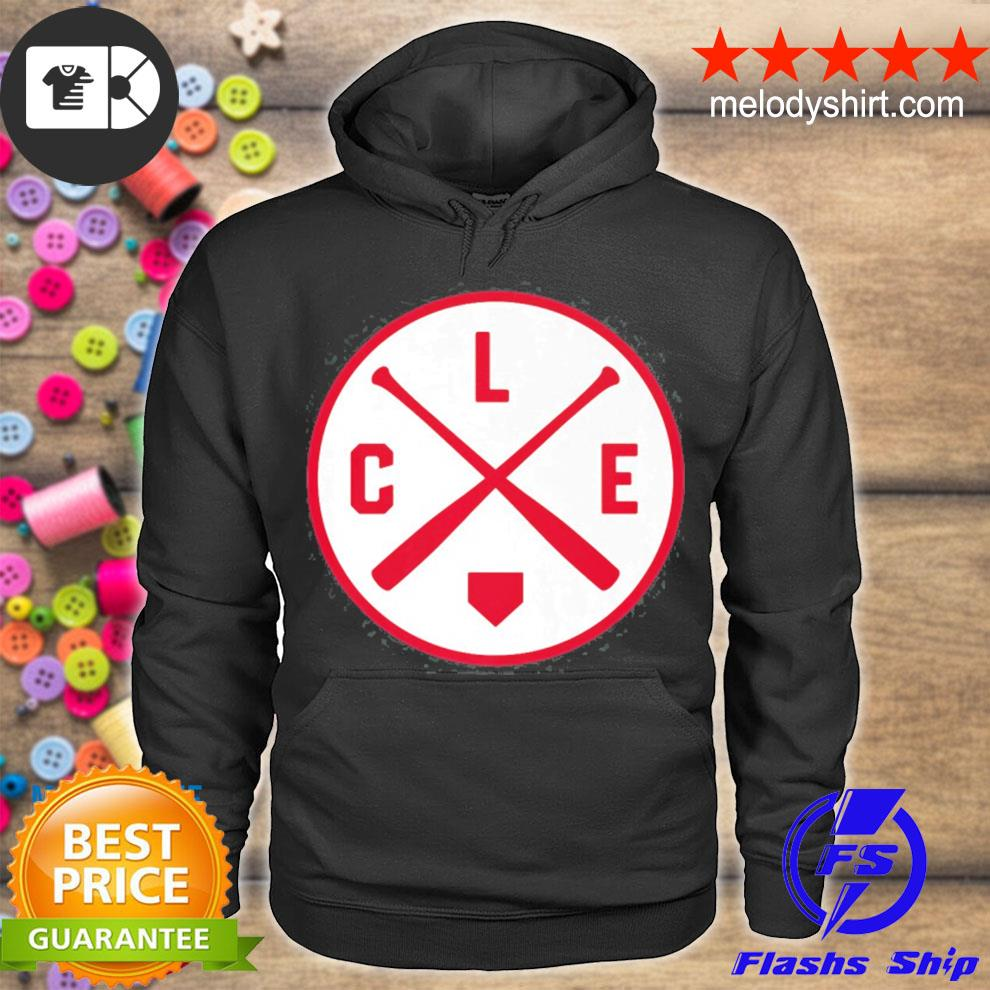Classic Cleveland baseball bat cle patch s hoodie