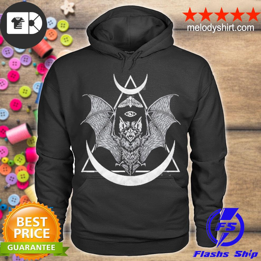 Creepy cute cute bat I wicca and witchcraft gothic pastel goth s hoodie