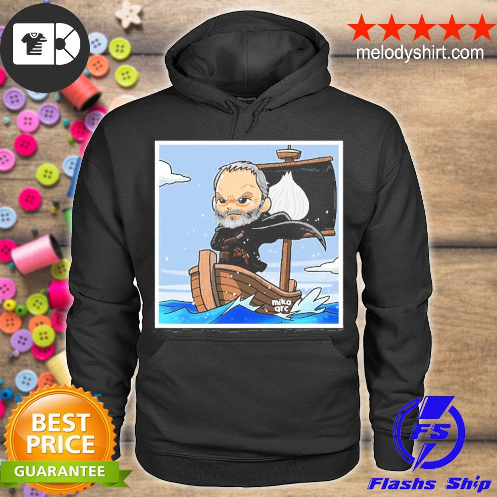 Davos seaworth the onion knight illustrated s hoodie