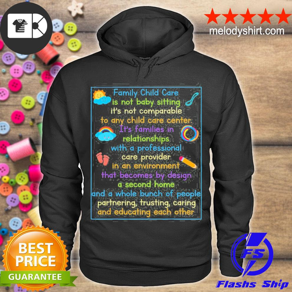Daycare provider day care child care childcare teacher s hoodie