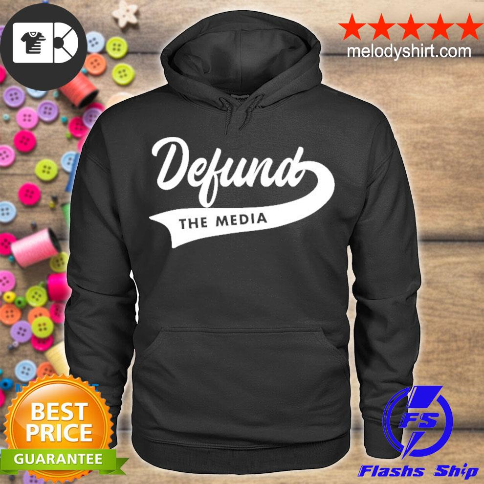 Defund the media antI fake news political gift s hoodie