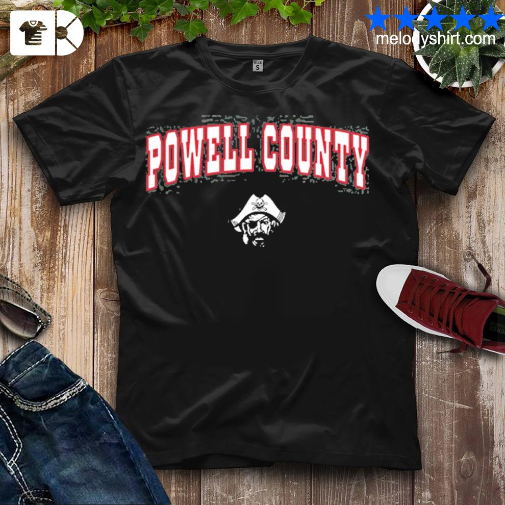 Powell county high school pirates shirt