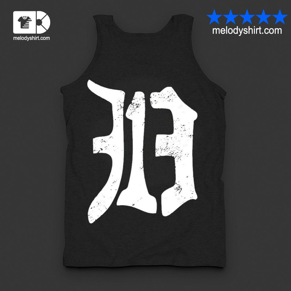 Detroit 313 vintage old english d area code new 2021 s tanktop