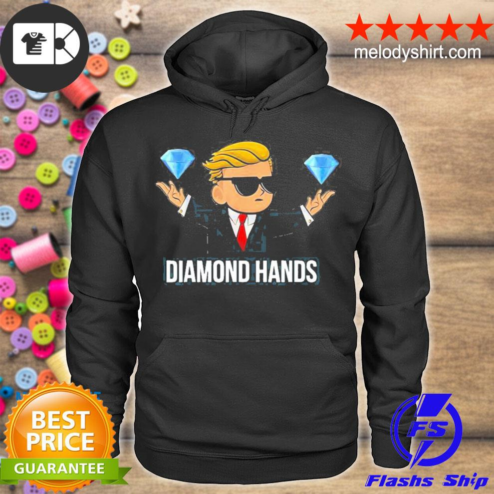 Diamond hands wallstreetbets tendies essential new 2021 s hoodie