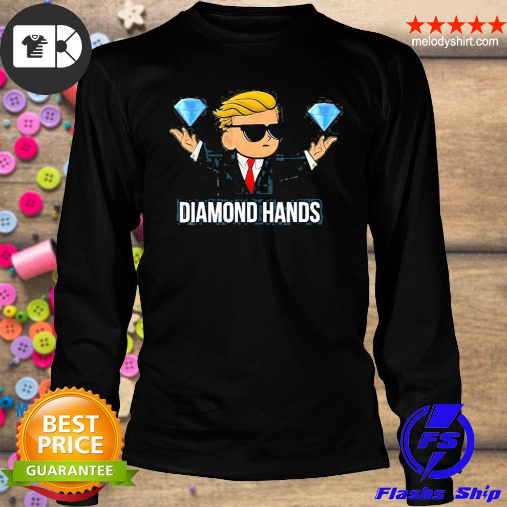 Diamond hands wallstreetbets tendies essential new 2021 s longsleeve