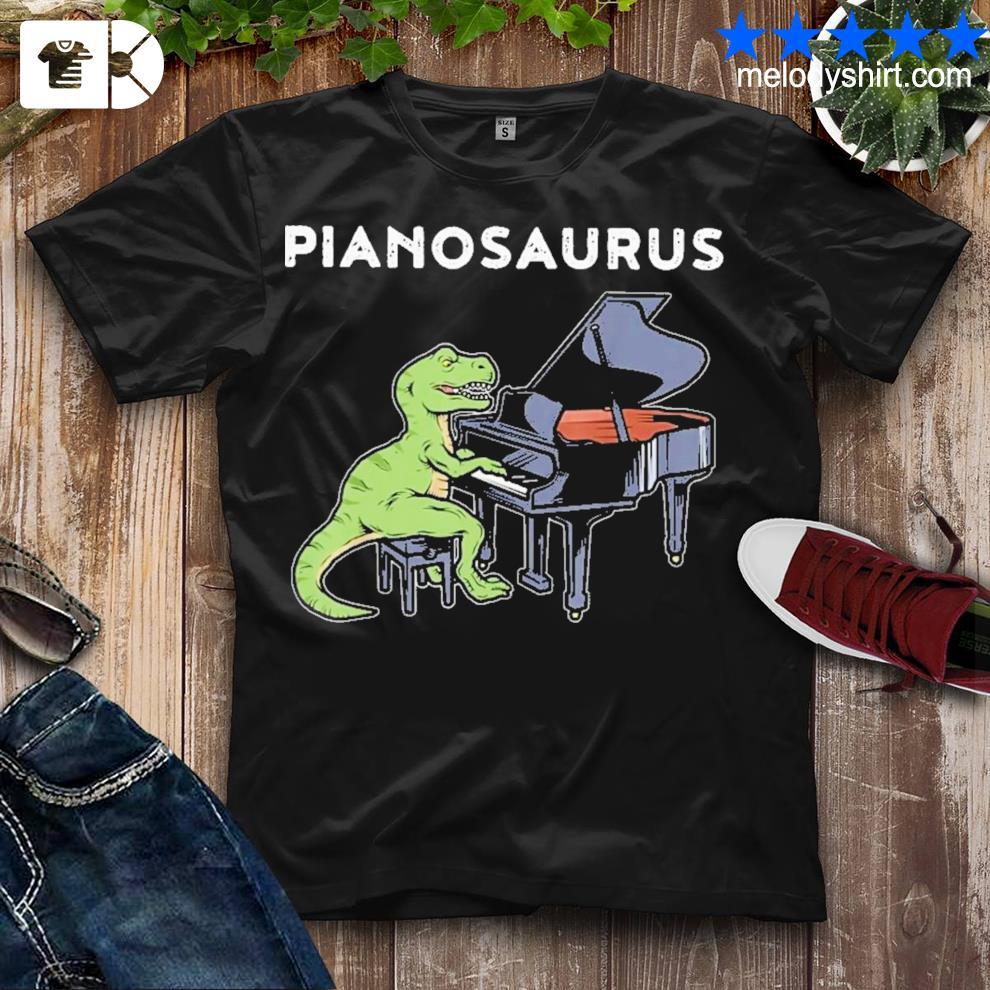 Excellent piano saurus new 2021 shirt