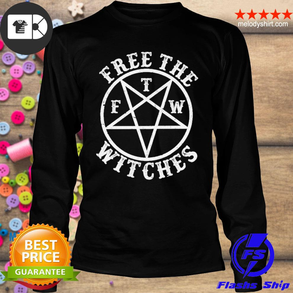 Free the f t m witches s longsleeve