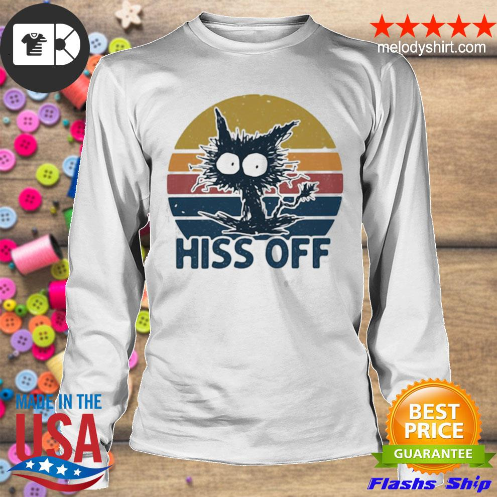 Hiss off cat vintage new 2021 s longsleeve