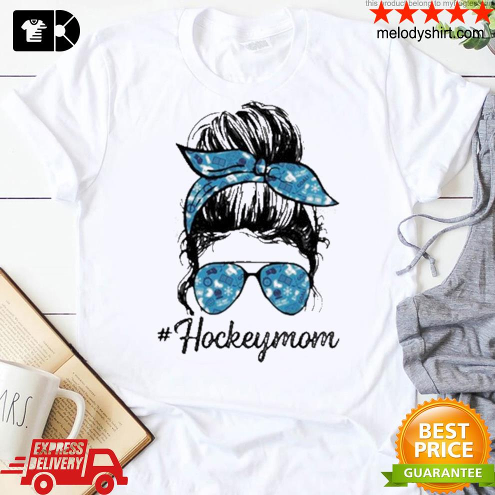 Hockey mom girl shirt