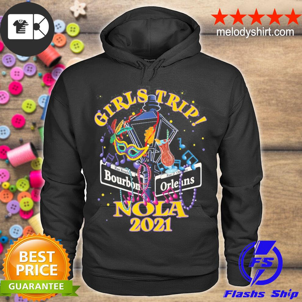 Nola girls trip 2021 new orleans bachelorette party new 2021 s hoodie