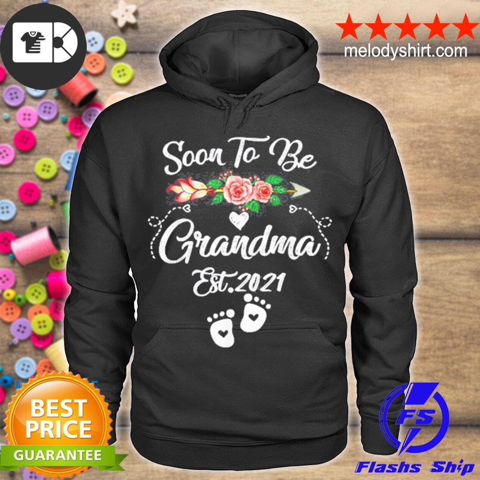 Soon to be grandma 2021 mother's day for grandma pregnancy s hoodie
