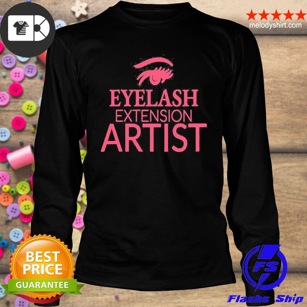 Womens eyelash extension artist s longsleeve
