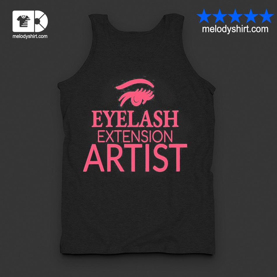 Womens eyelash extension artist s tanktop